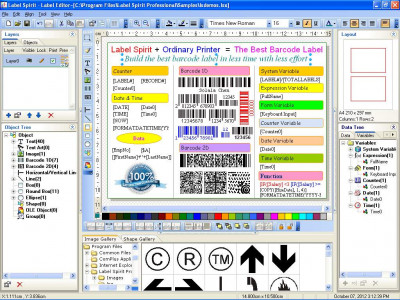 Label Spirit Professional 7.0.0 screenshot