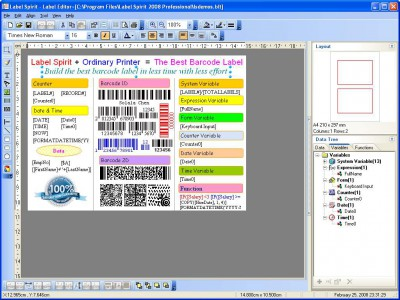 Label Spirit Simple 7.0.0 screenshot