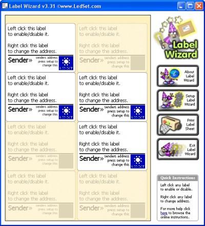 Label Wizard 3.36 screenshot