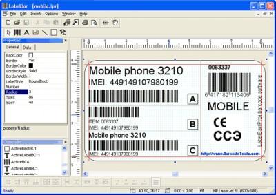 LabelBar(Pro) 5.1 screenshot