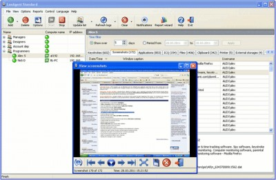 LanAgent Standard 4.2 screenshot