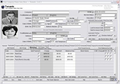 Landlord Report-Property Management Software 3.1 screenshot