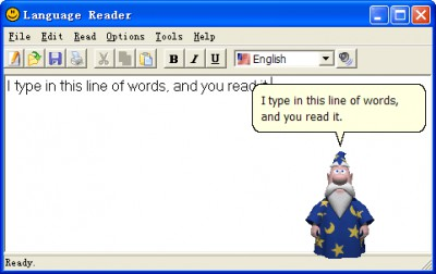 Language Reader 2.01 screenshot
