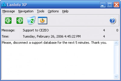 LanInfo XP 2.9.251 screenshot