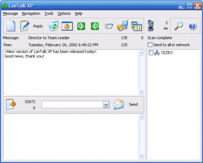 LanTalk XP 2.93.7649 screenshot