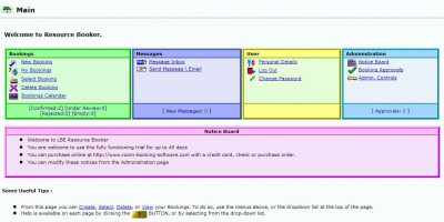 LBE Resource Booker 1.0.116 screenshot