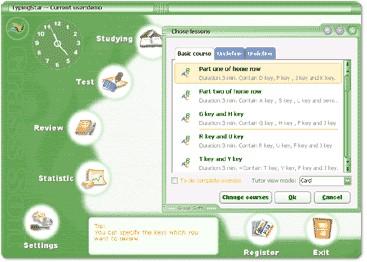 Learn To Type Tutor 2.60 screenshot