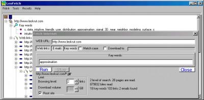 LeoFetch 3.2 screenshot