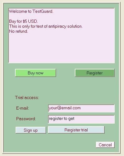 LeoGuard 1.0 screenshot