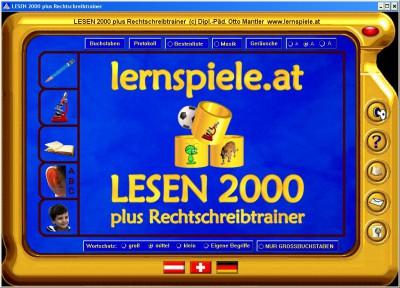 LESEN 2000 plus Rechtschreibtrainer 4.0.3 screenshot