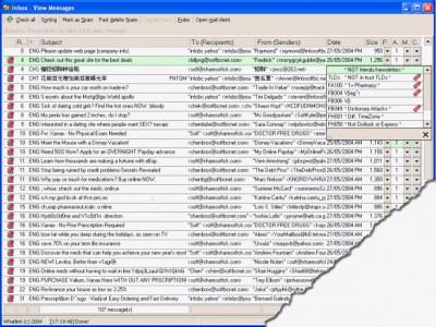Letterman Spam Control Std 3.5.281 screenshot