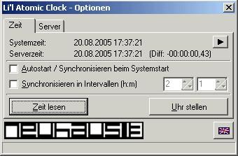 Li'l Atomic Clock 1.0.1 screenshot