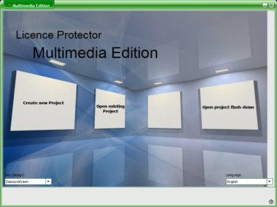 Licence Protector Multimedia Edition 1.1 screenshot