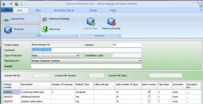 Licence Protector 5.1 screenshot