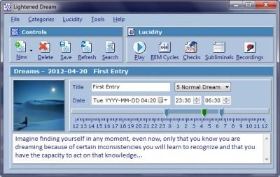 Lightened Dream 3.3.9 screenshot