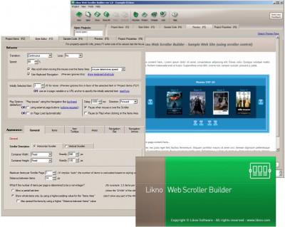 Likno Web Scroller jQuery Slider Builder 2.1.148 screenshot