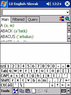 LingvoSoft Dictionary English <-> Slovak for Pocke 2.7.29 screenshot