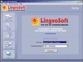 LingvoSoft FlashCards English <-> Portuguese for W 1.5.09 screenshot