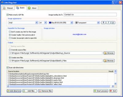 Link Disguiser 1.0.8 screenshot