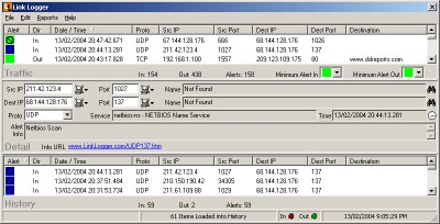 Link Logger - Linksys Protocol 2.4.5.24 screenshot