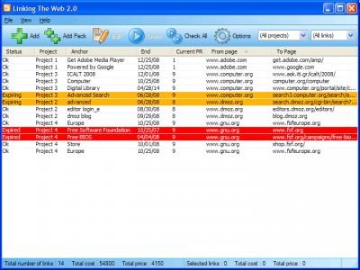 Linking The Web 2.0 screenshot