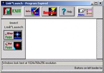 LinkLaunch 2.3 screenshot
