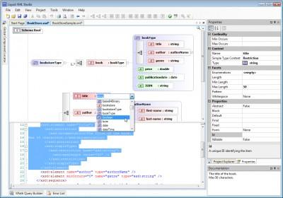 Liquid XML Studio 2009 7.1.6 screenshot
