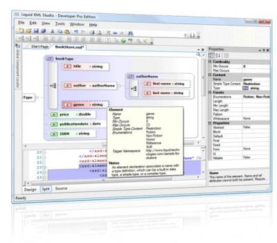 Liquid XML Studio 2011 9.0.1 screenshot