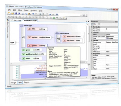 Liquid XML Studio 2014 12.0.1 screenshot