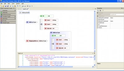 Liquid XML Studio 0.9.12 screenshot