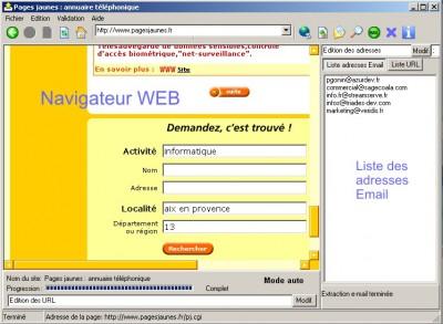 listemail 4.01 screenshot
