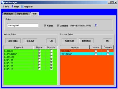 ListManager 8 screenshot