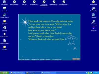Little Angel Messages 1.0 screenshot