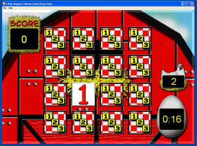 Little Hopper's Memory Matching Game 1.2.1 screenshot