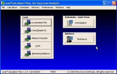 Loan*Calculator! Plus 3.0 screenshot