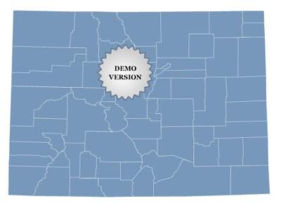 Locator Map of Colorado 1.0 screenshot