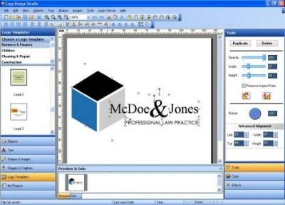 Logo Design Studio 3.30 screenshot