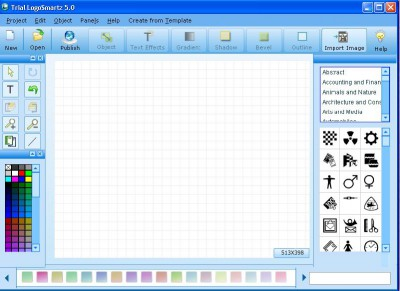Logosmartz Custom Logo Maker 5.0 screenshot