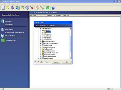 LoneMail Scanner 2006 1.00 screenshot