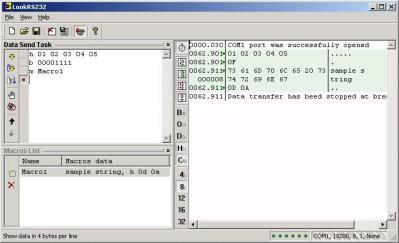 Look RS232 4.3 screenshot