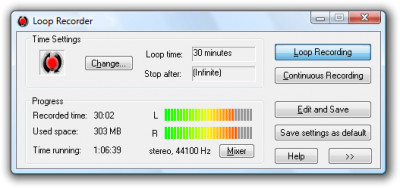 Loop Recorder 2.08 screenshot