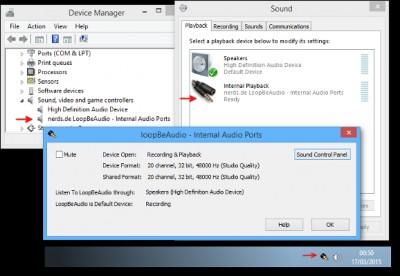 LoopBeAudio 1.1 screenshot