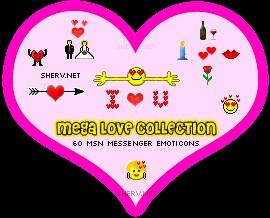 Love Emoticons 1.0 screenshot