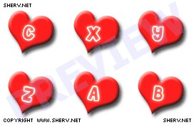 Love Initials Display Pictures 1.0 screenshot