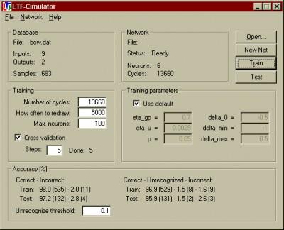 LTF-Cimulator 1.0 screenshot