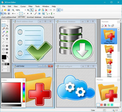 M Icon Editor 3.45 screenshot