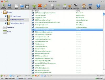 Mac Mass Mailer 4.21 screenshot