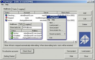 Mach5 PopMonger Free 3.0.40 screenshot