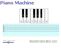 Machine online Piano 012 screenshot