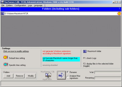 MacNames 1.1m screenshot